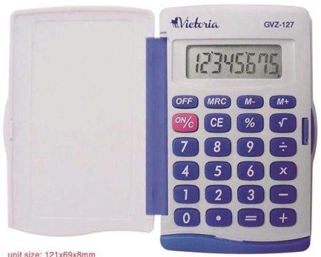 """VICTORIA Zsebszámológép, 8 számjegy, VICTORIA """"GVZ-127"""""""