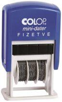 """COLOP Dátumbélyegző, COLOP """"S 160/L"""", Fizetve"""