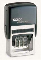 "COLOP Dátumbélyegző, COLOP ""S 260"", fekete párna"
