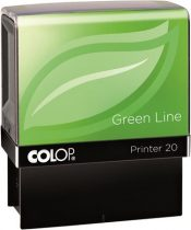 "COLOP Bélyegző, szó, COLOP ""Printer IQ 20/L Green Line"", Kiadva"