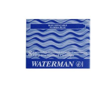 WATERMAN Töltőtoll patron, WATERMAN, kék