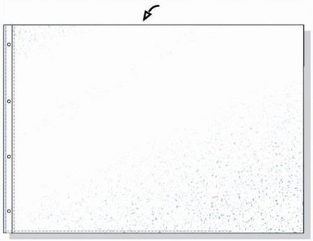 REXEL Genotherm, lefűzhető, A3, 80 mikron, narancsos felület, fekvő, REXEL