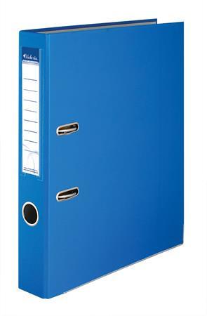 """VICTORIA Iratrendező, 50 mm, A4, PP/karton, élvédő sínnel, VICTORIA, """"Basic"""", kék"""
