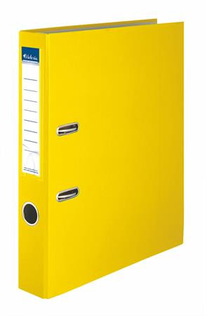 "VICTORIA Iratrendező, 50 mm, A4, PP/karton, VICTORIA, ""Basic"", sárga"