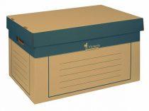 VICTORIA Archiváló konténer, 320x460x270 mm, karton, VICTORIA, natúr
