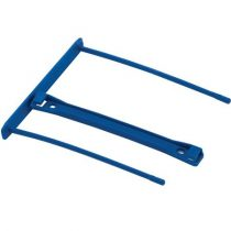 FELLOWES Lefűzőklip, műanyag, kék, 100 mm, FELLOWES