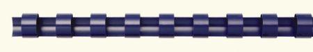 FELLOWES Spirál, műanyag, 6 mm, 10-20 lap, FELLOWES, 100 db, kék