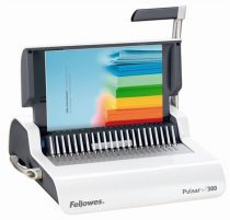"""FELLOWES Spirálozógép, műanyag spirálkötéshez, manuális, 300 lap, FELLOWES """"Pulsar+"""""""