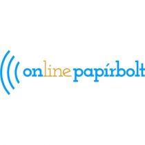 FELLOWES CD/DVD boríték, papír, ablakos, FELLOWES, fehér