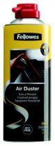 FELLOWES Sűrített levegős porpisztoly, HFC mentes, gyúlékony, 520 ml/350 ml, FELLOWES