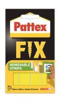"""HENKEL Ragasztócsík, kétoldalú, visszaszedhető, 20 x 40 mm, HENKEL """"Pattex Fix"""""""