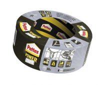 "HENKEL Ragasztószalag, 50 mm x 50 m, HENKEL ""Pattex Power Tape"", ezüst"