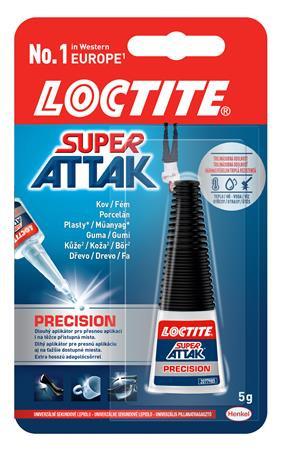 "HENKEL Pillanatragasztó, 5 g, HENKEL ""Loctite Super Attak Precision"""