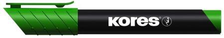 "KORES Alkoholos marker, 3-5 mm, kúpos, KORES ""K-Marker"", zöld"