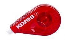 "KORES Hibajavító roller, 4,2 mm x 15 m, KORES ""Roll On"", piros"