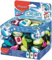 """MAPED Hegyező display, egylyukú, tartályos, MAPED """"Clean"""", vegyes színek"""