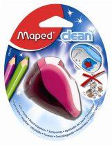 """MAPED Hegyező, kétlyukú, tartályos, MAPED """"Clean"""", vegyes színek"""