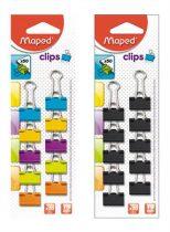 MAPED Bindercsipesz, 19 mm, MAPED, vegyes színek