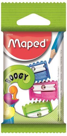 """MAPED Hegyező, egylyukú, MAPED """"Boogy"""", vegyes színek"""