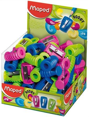 """MAPED Hegyező display, egylyukú, MAPED """"Boogy"""", vegyes színek"""