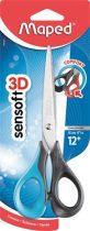 """MAPED Olló, általános, 16 cm, MAPED """"Sensoft 3D"""", vegyes színek"""