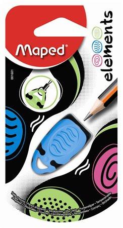 """MAPED Hegyező, egylyukú, MAPED """"Elements"""", vegyes színek"""