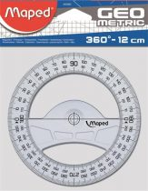 "MAPED Szögmérő, műanyag, 360°, MAPED ""Geometric"""
