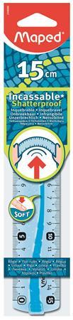 """MAPED Vonalzó, műanyag, hajlítható, 15 cm, MAPED """"Flex"""""""