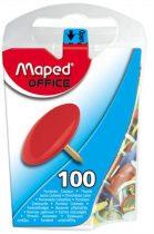 MAPED Rajzszeg, 100 db-os, MAPED, színes