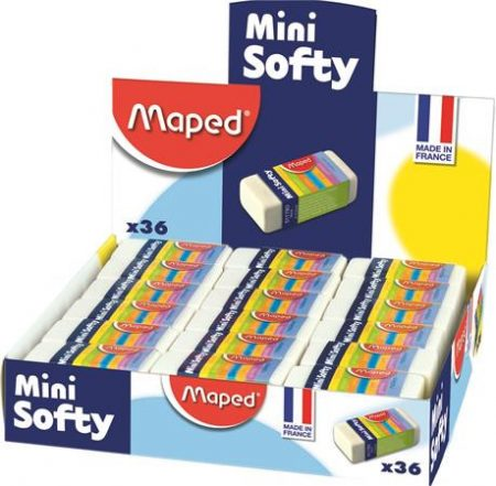 "MAPED Radír display, MAPED ""Mini Softy"""