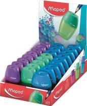 """MAPED Hegyező display, egylyukú, tartályos, MAPED """"Shaker"""", vegyes színek"""