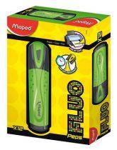 """MAPED Szövegkiemelő, 1-5 mm, MAPED """"Fluo Peps Classic"""", zöld"""