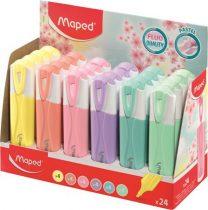 """MAPED Szövegkiemelő display, MAPED """"Fluo Peps Quality"""", vegyes színek"""