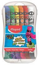 MAPED Tempera készlet, 12 darabos, műanyag dobozban, MAPED