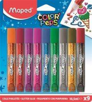 """MAPED Csillámos ragasztó, MAPED """"Color'Peps"""", 9 különböző szín"""