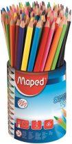 """MAPED Színes ceruza készlet, háromszögletű, ceruzatartó, MAPED """"Color'Peps"""""""