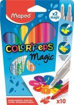 """MAPED Filctoll készlet, 3,6 mm, MAPED """"Color'Peps Magic"""", 8+2 különböző szín"""