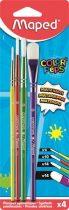"""MAPED Ecsetkészlet, no. 4-10-14-14, MAPED """"Color'Peps"""""""