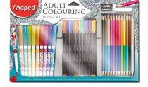 MAPED Felnőtt színezőkészlet, MAPED, 33 darabos