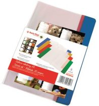 PANTA PLAST Füzet- és könyvborító + füzetcímke, A5, PVC,  PANTA PLAST