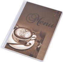 """PANTA PLAST Étlaptartó, A5, PANTA PLAST """"Café"""" , kávé"""