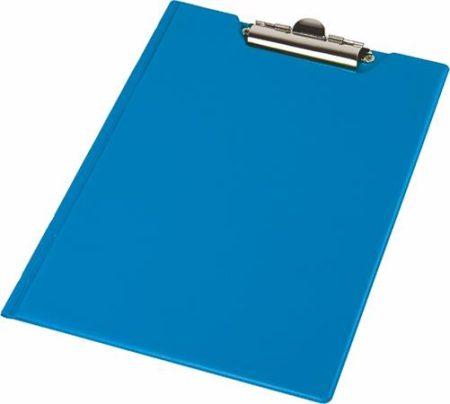 PANTA PLAST Felírótábla, fedeles, A4, sarokzsebbel, PANTAPLAST, kék