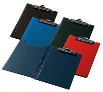 PANTA PLAST Felírótábla, fedeles, A4, sarokzsebbel, PANTAPLAST, piros