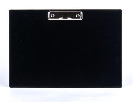 PANTA PLAST Felírótábla, fekvő, A4, PANTA PLAST, fekete