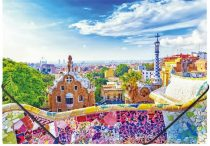 "PANTA PLAST Gumis mappa, 15 mm, PP, A4, PANTA PLAST ""Barcelona"""