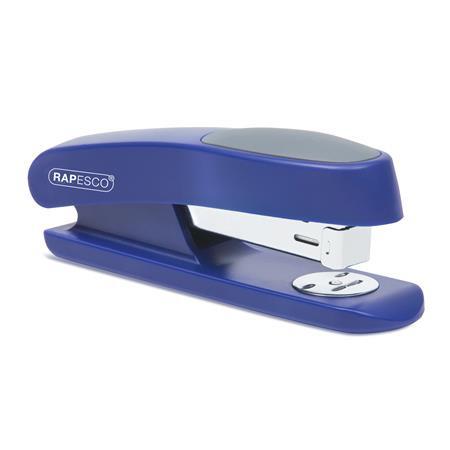 "RAPESCO Tűzőgép, 24/6, 26/6, 20 lap, műanyag, RAPESCO ""Sting Ray Half-Strip"", kék"