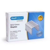 RAPESCO Tűzőkapocs, 923/10, erős, RAPESCO