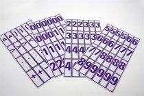 Szám és jelkártya II-IV. o.