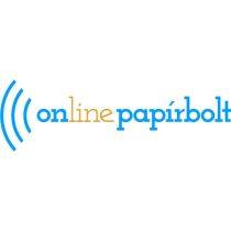Dekor karton 2 oldalas 48x68 bordó