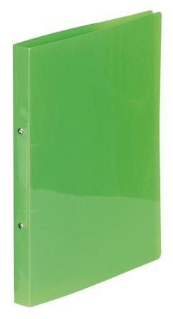 "VIQUEL Gyűrűs dosszié, 2 gyűrű, 25 mm, A4, PP, VIQUEL ""Propyglass"", zöld"